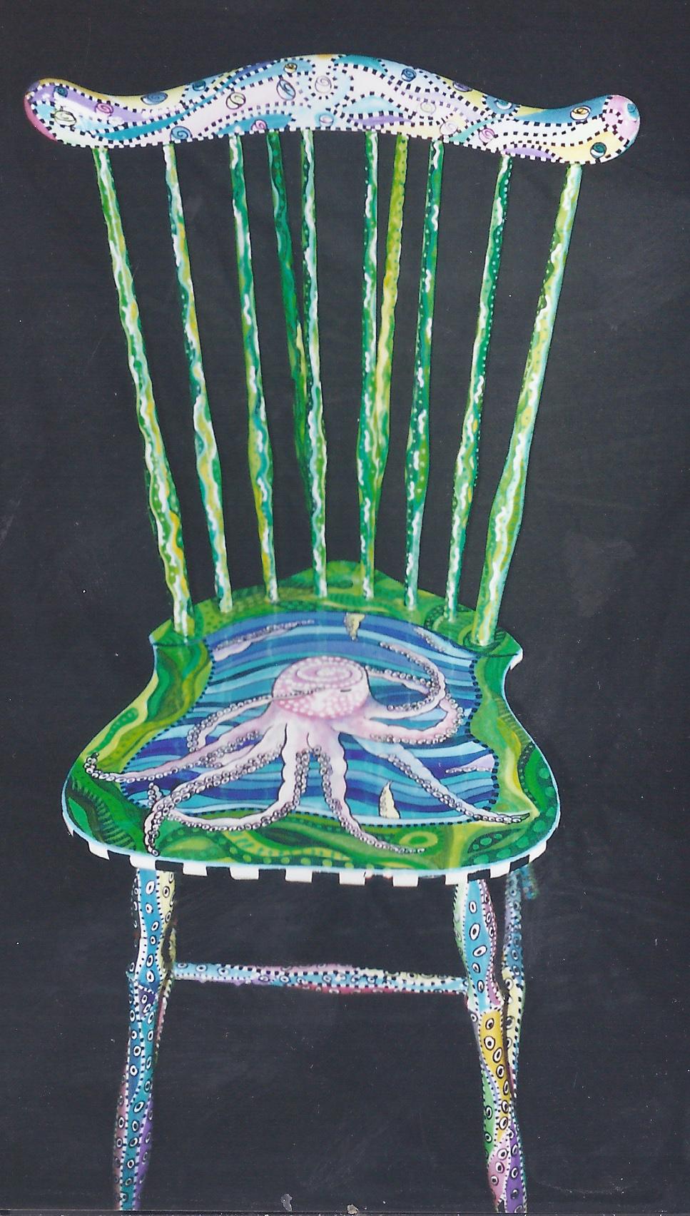 Octopus Chair Eileen Goldenberg